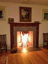 Rumford Fireplace (Night)