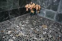 Island Stone Java grey perfect pebble floor 2 - Tile ...