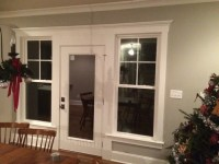 If you have 9 foot ceilings, what height windows and doors?