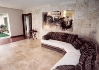 Living Room Wall and TiIe Flooring - Contemporary - Living ...