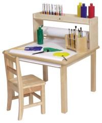 Steffywood Kids Craft Creativity Desk Wooden Art Table ...