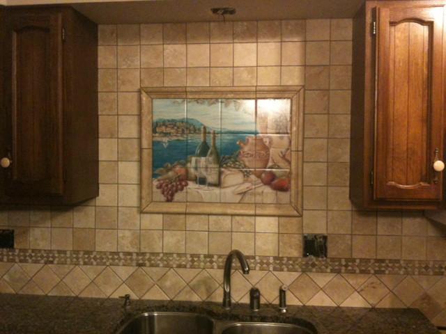 rita broughton kitchen backsplash tile murals mediterranean kitchen pics photos tile mural kitchen tile backsplash
