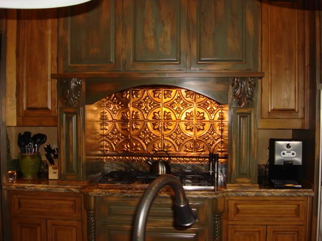 tin backsplash kitchen backsplashes rustic kitchen tampa rustic kitchen backsplash tile