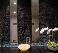 Asian Spa Vanity - Contemporary - Bathroom - other metro ...