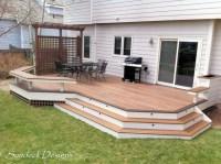 Ground level Evergrain deck - Deck - other metro - by ...