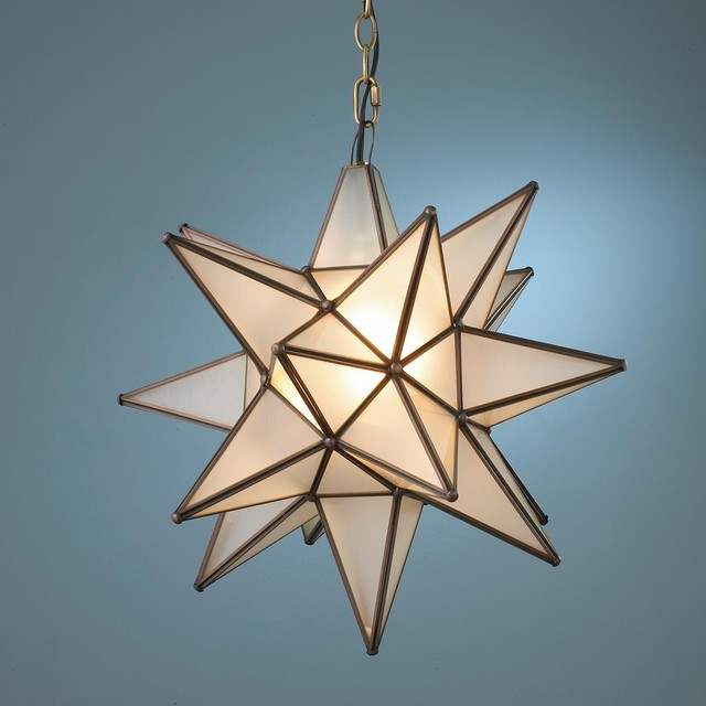 Stern Lampe Superior Moravian Star Light - Lamp Shades - By Shades Of