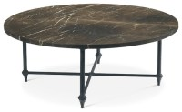 Round Cocktail Table - Eclectic - Coffee Tables - by Baker ...