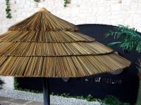 Thatch Umbrella - Synthetic - Tropical - Outdoor Umbrellas ...