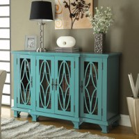 Teal Blue Accent Cabinet - Modern - Kitchen Cabinetry - by ...