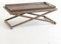 Oak Tray Coffee Table - Traditional - Coffee Tables ...
