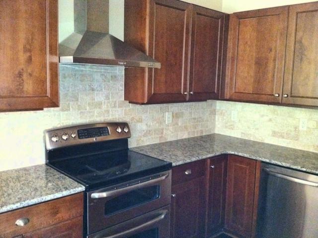 ivory tile backsplash traditional kitchen atlanta cr home kitchen backsplash traditional kitchen
