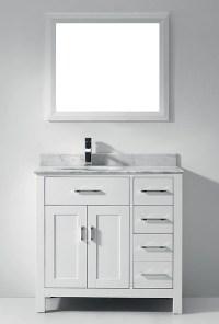 White Bathroom Vanities - Bathroom Vanities And Sink ...