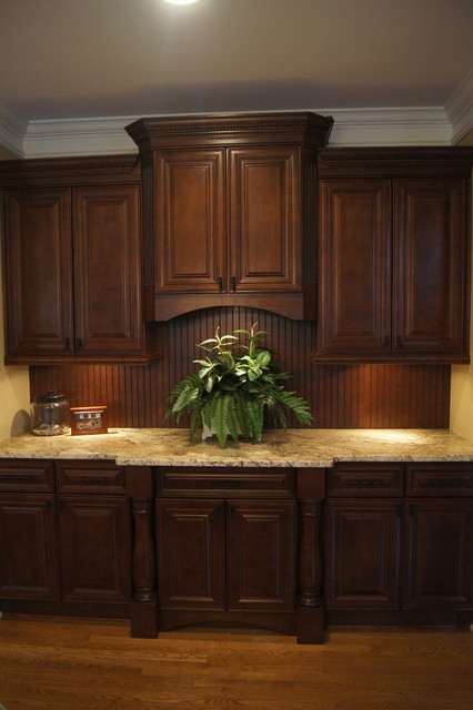 Staircase Hanging Lights Ccff Kitchen Cabinet Finishes - Traditional - Kitchen