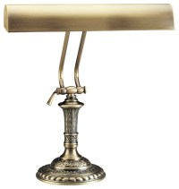 Antique Brass Piano Lamp - Traditional - Table Lamps