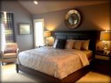 Dreamy Purple Master Bedroom Suite Contemporary Bedroom Omaha