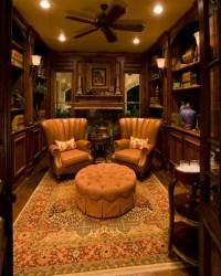 Sam Allen Custom Home Design - Traditional - Home Office ...