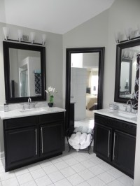 Master Bath Vanity Using Kitchen Cabinet Bases ...