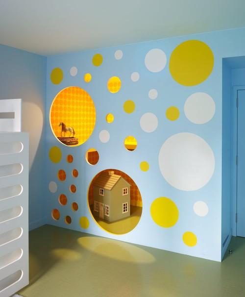 Kids Room Colors. Trendy Kids Room Ideas Tertiary Formed Mixing