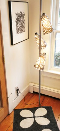 Pole Lamp Revisted - Eclectic - Living Room - boston - by ...