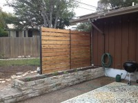 Privacy Fence - Industrial - Patio - austin - by Sierra Prana