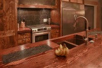 Modern Colonial Kitchen - Farmhouse - Kitchen ...