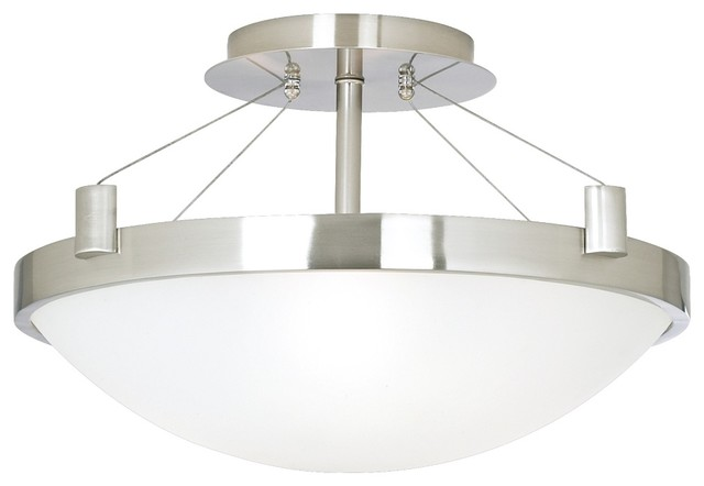 "Houzz Ceiling Lights Contemporary Suspension 17 1/4"" Wide Ceiling Light Fixture"