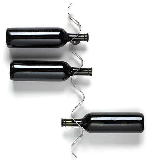 Flow Wine Rack Black Blum Modern Wine Racks By Horne