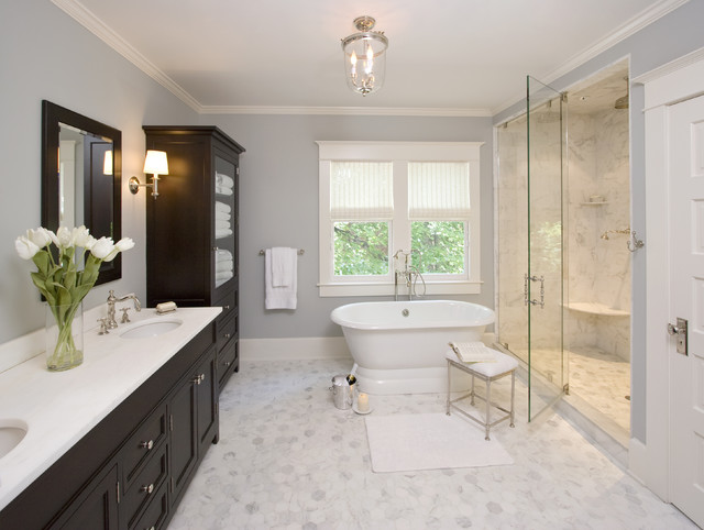 Houzz Master Bathrooms Clawson Architects Projects - Traditional - Bathroom - New