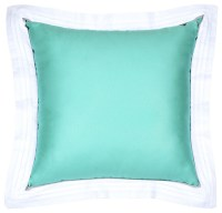 Sateen Tiffany Blue Flange Pillow - Modern - Decorative ...