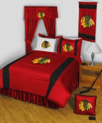 NHL Chicago Blackhawks Bedding and Room Decorations ...