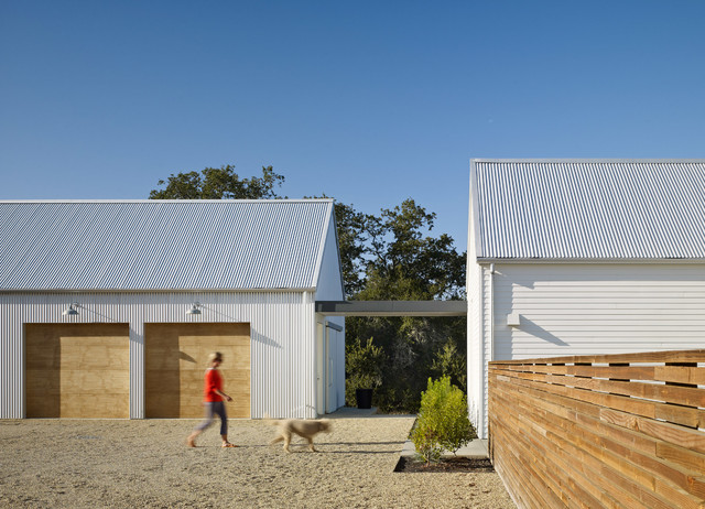 Healdsburg Residence Farmhouse Garage And Shed San