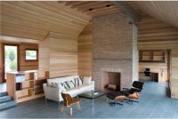 Living Room Slate Flooring