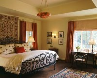 Spanish Colonial Master Bedroom, Westchester County, NY ...