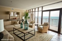 Luxury Oceanfront Condo - Contemporary - Living Room ...