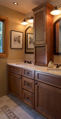 Vanity Cabinets - Mediterranean - Bathroom - other metro ...