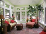 Sunroom   Tropical   Porch   Chicago   By Doreen Schweitzer Interiors