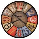 County Line Howard Miller Wall Clock