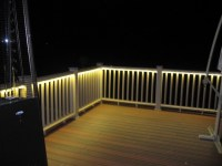 Beth - Backyard on Pinterest | Stone Patios, Deck Lighting ...