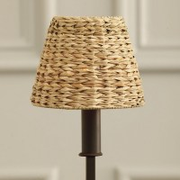 Woven Seagrass Chandelier Shade - Traditional - Lamp ...