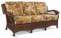 Casablanca Wicker Rattan Sofa - Tropical - Furniture - new ...