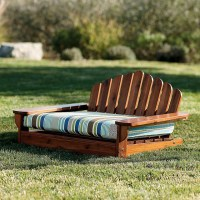 Outdoor Adirondack Pet Bed - Contemporary - Dog Beds - by ...