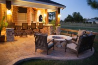 Fire Features by Texas Custom Patios - Traditional - Patio ...