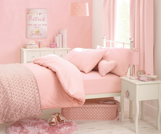 Polka Dot Single Bed Set Modern Kids Bedding By Next
