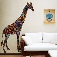 Giraffe Wall Sticker - Contemporary - Wall Decals - other ...