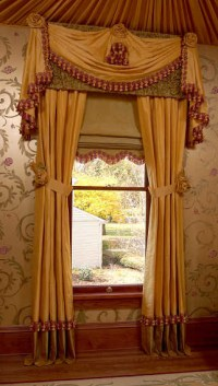 VIctorian Music Study - Traditional - Curtains - chicago ...