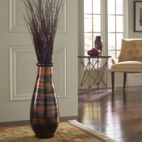 Copperworks Round Floor Vase - Modern - Home Decor