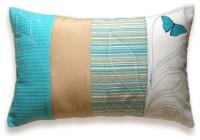 Patchwork Stripes Decorative Lumbar Pillow Cover 12x18 ...
