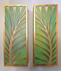 Tropical Wall Sconces - Photos Wall and Door ...