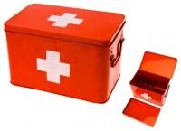 Red Cross Medicine Storage Box - Modern - Storage Bins And ...