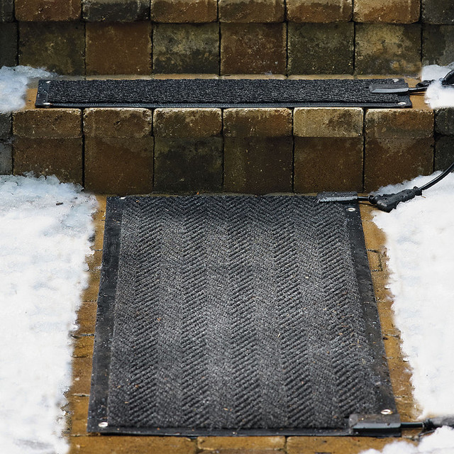 Outdoor Heated Stair Mats Starter Kit Traditional